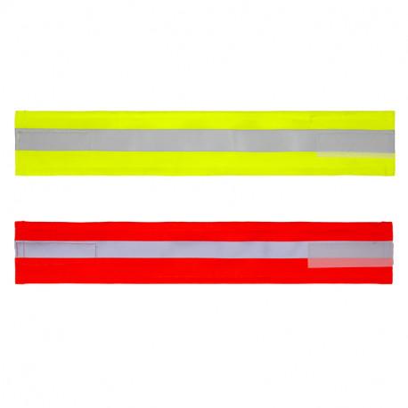 Brassard PVC Visibilité Jour/Nuit FLUO