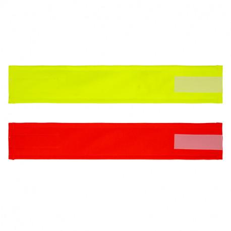 Brassard PVC Visibilité Jour FLUO